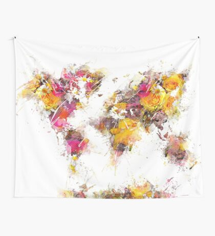world map 2037 Wall Tapestry