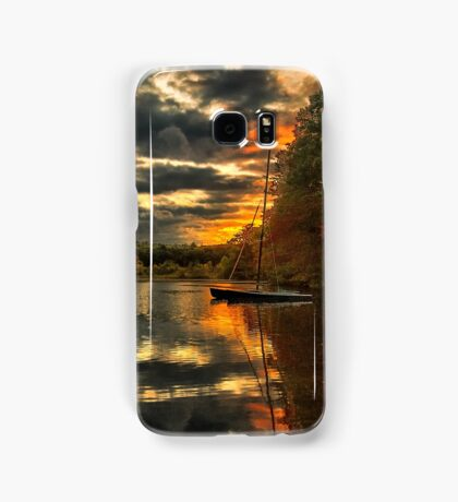 Colorful lake Waban Samsung Galaxy Case/Skin