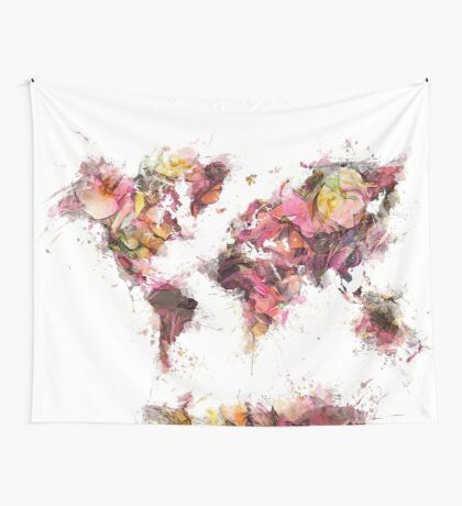 world map 2032 Wall Tapestry