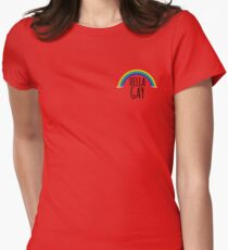 Hella Gay Womens Fitted T-Shirt