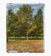Yellow trees iPad Case/Skin