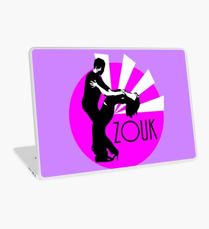 lets dance zouk Laptop Skin