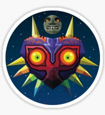 Majora's Mask (Low-Poly) Sticker