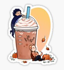 Pumpkin Spice Latte Sticker