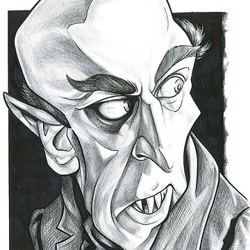 Nosferatu in Black and White by larryweber