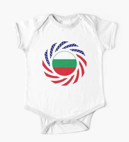 Bulgarian American Multinational Patriot Flag Series Kids Clothes