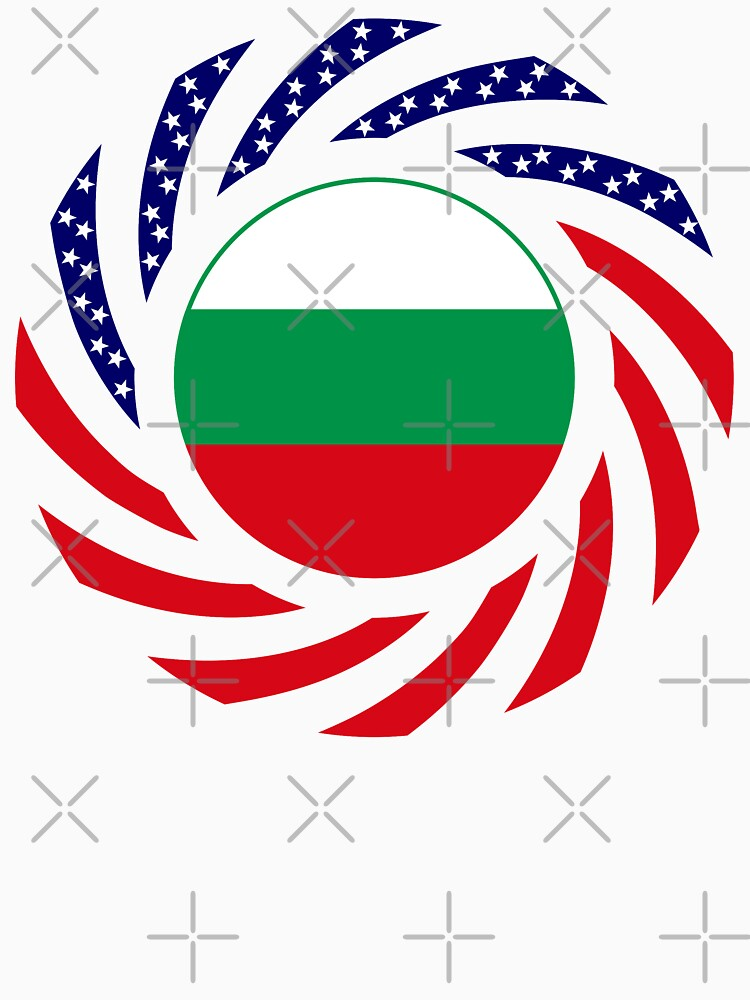 Bulgarian American Multinational Patriot Flag Series by carbonfibreme