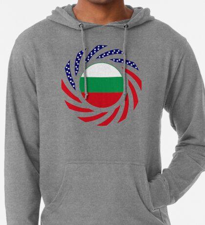 Bulgarian American Multinational Patriot Flag Series Lightweight Hoodie