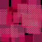 Pink Patchwork Pattern by EvePenman