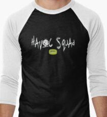 Havoc Squad - white Men's Baseball ¾ T-Shirt
