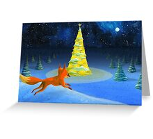 little foxy Greeting Card