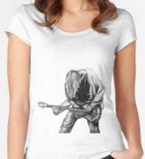 Negative Creep Women's Fitted Scoop T-Shirt