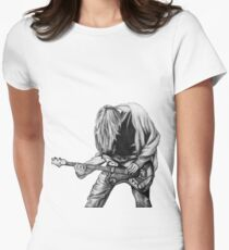 Negative Creep Women's Fitted T-Shirt