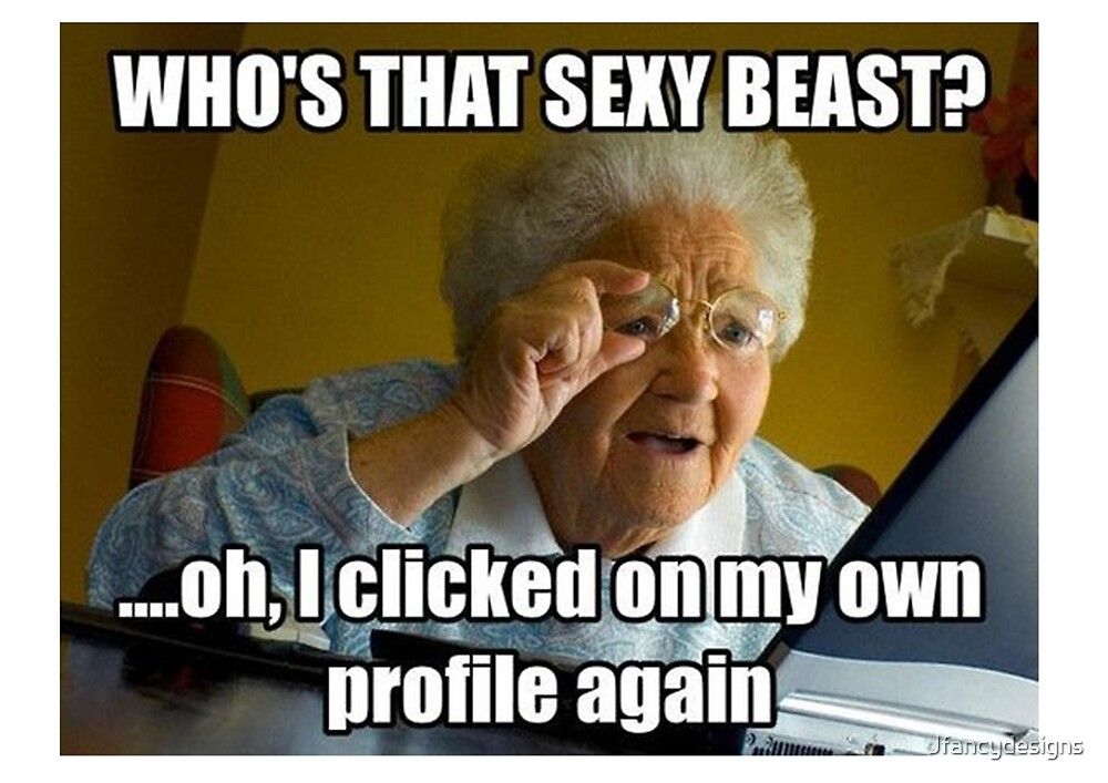 Old lady meme like your