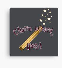 Churro Wizard Canvas Print