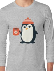 Penguin the Cute Penguin Winter Adorable Animal Long Sleeve T-Shirt