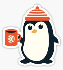 Penguin the Cute Penguin Winter Adorable Animal Sticker