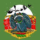 Night Fury Before Christmas by tonksiford