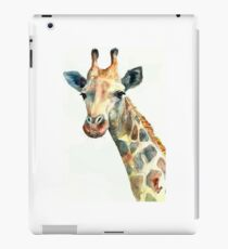 plain giraffe my digital art iPad Case/Skin