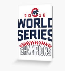 world series champion Greeting Card
