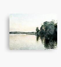 Lay Lake Alabama Sunset Canvas Print