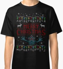 MERRY CHRISTMAS FROM THE UPSIDE DOWN! Classic T-Shirt