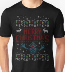 MERRY CHRISTMAS FROM THE UPSIDE DOWN! Unisex T-Shirt