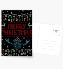 MERRY CHRISTMAS FROM THE UPSIDE DOWN! Postcards