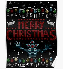 MERRY CHRISTMAS FROM THE UPSIDE DOWN! Poster