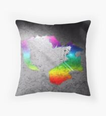 WaterSplash (Signs of Love 1) Throw Pillow