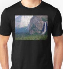 Yosemite Bridal Veil Fall Unisex T-Shirt