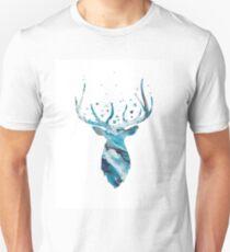 Stag Head Wall Mount Deer Wall Art Unisex T-Shirt