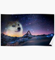 Doge sky Poster