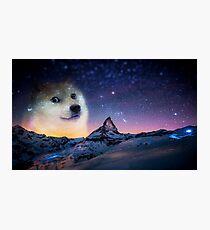 Doge sky Photographic Print
