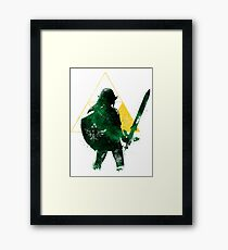 Guard of courage Framed Print