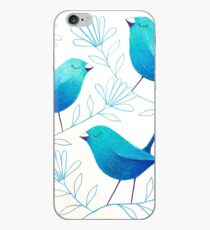 Bluebirds iPhone Case