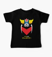 Grendizer - Color and japanese writing Baby Tee