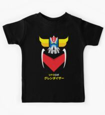 Grendizer - Color and japanese writing Kids Clothes