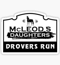 McLeod's Daughters Drovers Run Sticker