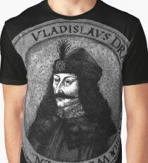Vlad Dracula Tepes The Impaler Vampire Graphic T-Shirt