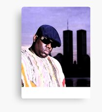 The Notorious BIG World Trade Center Biggie Smalls Twin Towers Canvas Print