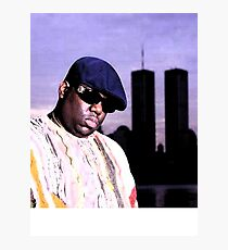 The Notorious BIG World Trade Center Biggie Smalls Twin Towers Photographic Print