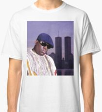 The Notorious BIG World Trade Center Biggie Smalls Twin Towers Classic T-Shirt