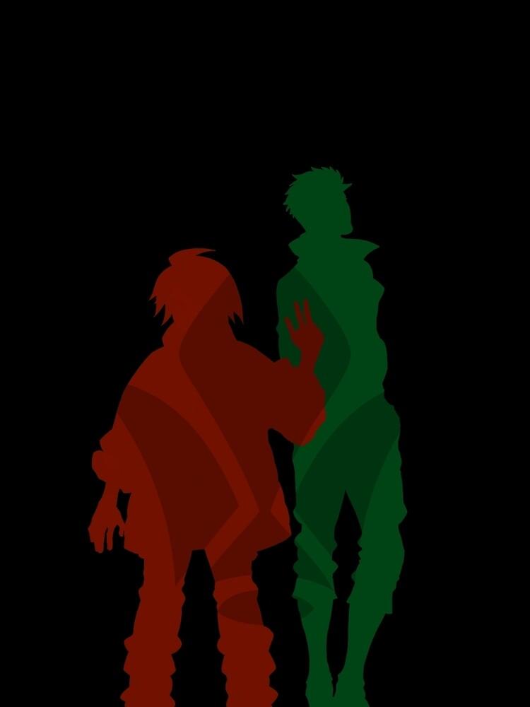 Mikazuki and Orga - MSG Iron Blooded Orphans by Akazoku