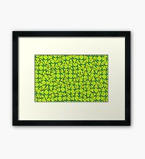 Green Bow Framed Print