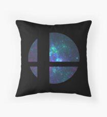 Super Smash Brothers logo Throw Pillow