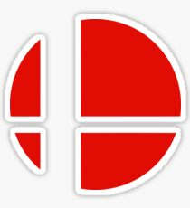 Super Smash Brothers logo Sticker
