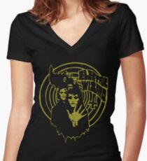 Electric Wizard - March Women's Fitted V-Neck T-Shirt