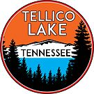 TELLICO LAKE TENNESSEE BOATING BOAT TENNESSEE VALLEY AUTHORITY TVA CAMPING HIKING 6 by MyHandmadeSigns