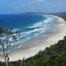 Byron Bay Coastline N.S.W.  Australia by sandysartstudio